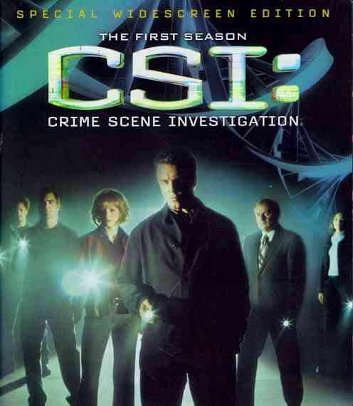 CSI:CRIME SCENE INVESTIGATION:SSN 1 BY CSI: CRIME SCENE INV (Blu-Ray)
